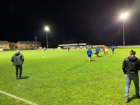 Neue Beleuchtung des Fußballplatzes in St. Stefan im Rosental